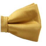 Kinderfliege Gold - Polyester Satin - Thumbnail 2