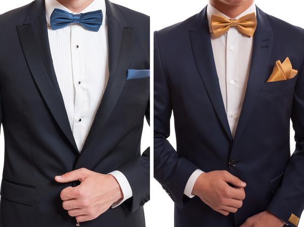 Die 10 besten Looks mit Herrenfliege für den Bräutigam