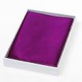 Violettes Einstecktuch aus reiner Seide