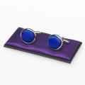 Manschettenknöpfe königsblau